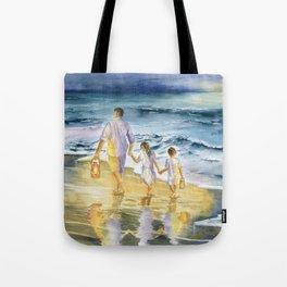 Summer Vacation Memory Tote Bag