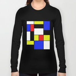 Mondrian #20 Long Sleeve T-shirt