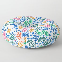Matisse Colorful Pattern #1 Floor Pillow