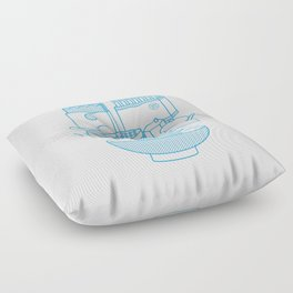 Ramen Set Floor Pillow