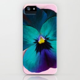 Viola tricolor iPhone Case