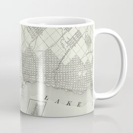Vintage Map of Duluth MN (1901) Coffee Mug