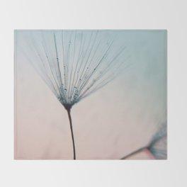dandelion - sprinkles of love Throw Blanket