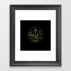 new sailor Framed Art Print