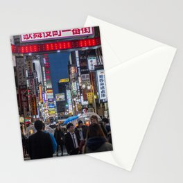 Tokyo Streets Stationery Cards