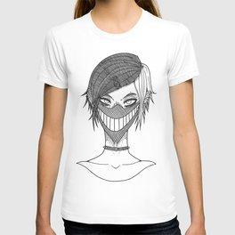 Smile mask T-shirt