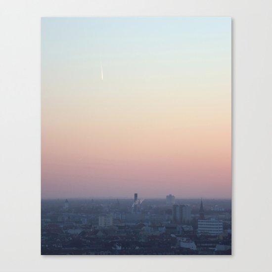 berlin sky Canvas Print