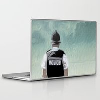 bill Laptop & iPad Skins featuring the Bill by Vin Zzep