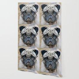 Precious Pug Wallpaper