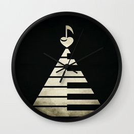 piano music Wall Clock
