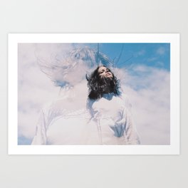 Sky Angel Art Print