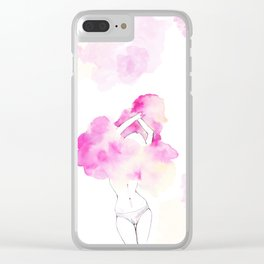 Undress your body Clear iPhone Case