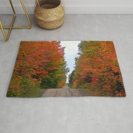 Seeing Red and Loving it Rug