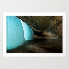 Minnehaha Falls. Minnesota.  Art Print