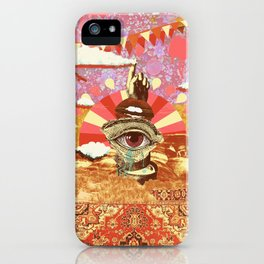AFTERNOON PSYCHEDELIA REDUX iPhone Case