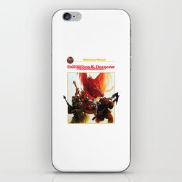 dungeons and dragons - advanced iPhone Skin