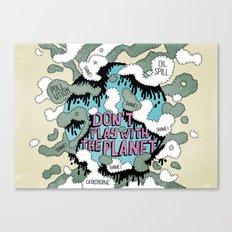 PLANISFEAR Canvas Print