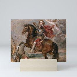 Peter Paul Rubens: Equestrian Portrait of the Duke of Buckingham Mini Art Print