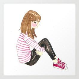 Character Design Art Print