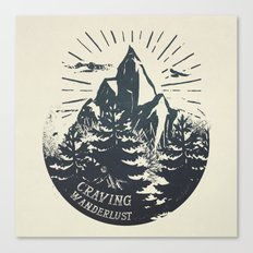 Craving wanderlust III Canvas Print