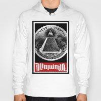 illuminati Hoodies featuring Illuminati  by Spyck