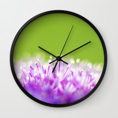 Pompoms Wall Clock