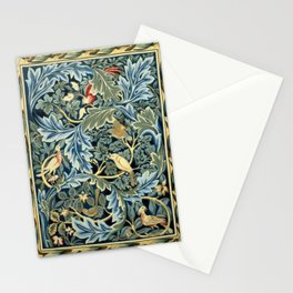 William Morris Birds and Acanthus Stationery Cards