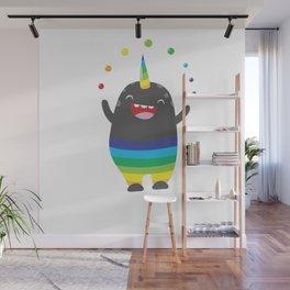 Unicorn Rainbow Monster Wall Mural