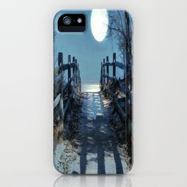 Under The Moonbeams iPhone Case