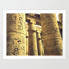colonne Art Print