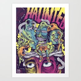 Reimagine Palahniuk - Haunted Art Print