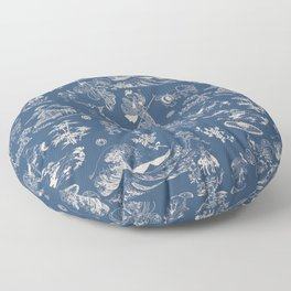 Hokusai - Big Wave of Kinagawa Floor Pillow