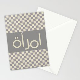 Arabic Female Stationery Cards