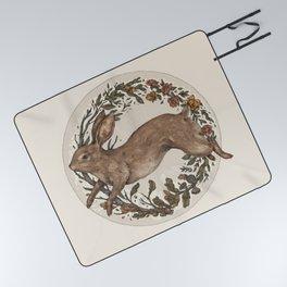 Rabbit Picnic Blanket