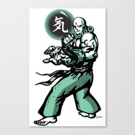The Monk and The Orb Canvas Print
