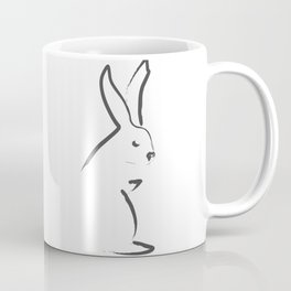 Zen Snow Bunny Coffee Mug
