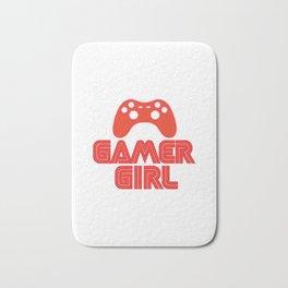 Gamer Girl Bath Mat