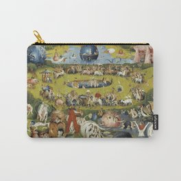 THE GARDEN OF EARTHLY DELIGHT - HEIRONYMUS BOSCH Carry-All Pouch