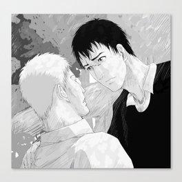 Shingeki no Kyojin - Reiner and Bertholdt Canvas Print