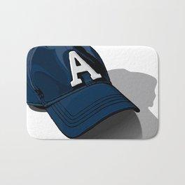 Baseball Cap Bath Mat