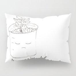 "succulent: ""i'm prickly"" Pillow Sham"