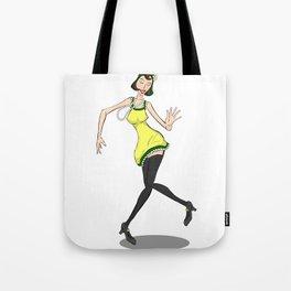 Flapper Tote Bag