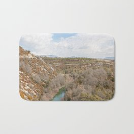 River in the French mountains Bath Mat