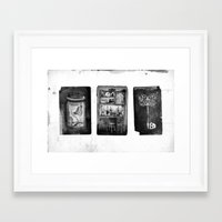 alchemy Framed Art Prints featuring Alchemy by Mutt Ink
