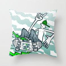 Skate Air Throw Pillow
