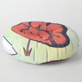 Vintage El Corazon Tarot Card Heart Love Artwork, Design For Prints, Posters, Bags, Tshirts, Floor Pillow