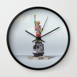 New York! New York! Wall Clock