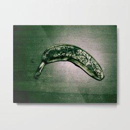 Tattooed Banana Metal Print