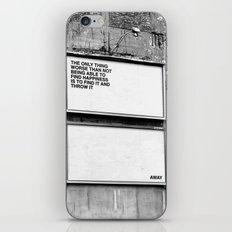 Billboard Fantasies #1 iPhone & iPod Skin