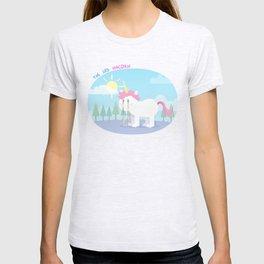 The sad unicorn T-shirt